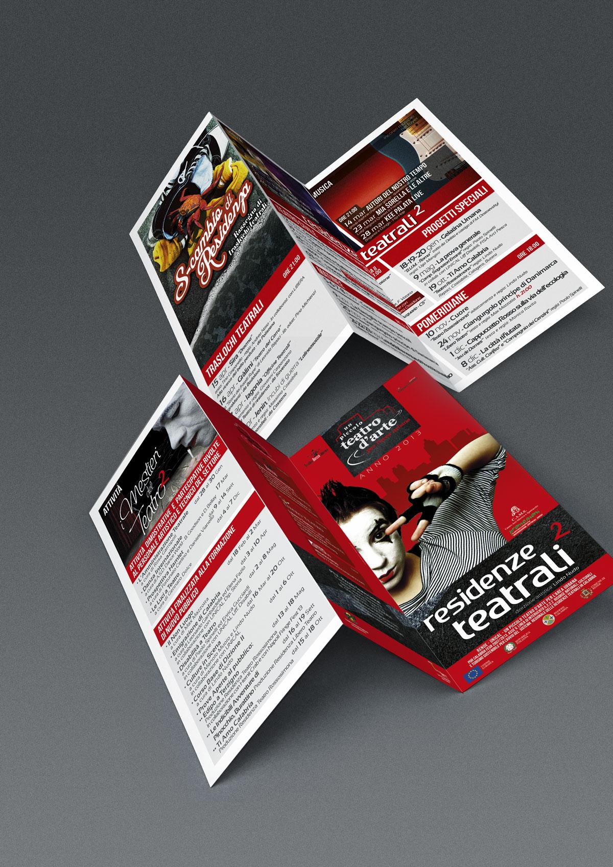 brochure residenze teatrali